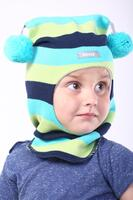 Шапка шлем весна-осень Beezy - 1530/34/20