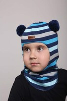 Шапка шлем весна-осень Beezy - 1702/37/21
