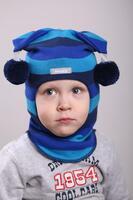 Шапка шлем весна-осень Beezy - 1707/35