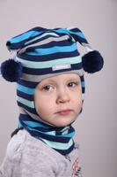 Шапка шлем весна-осень Beezy -1707/37/21