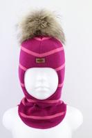 Зимняя шапка шлем Beezy -1802/31/22