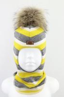 Зимняя шапка шлем Beezy -1802/33/22