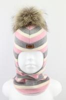 Зимняя шапка шлем Beezy -1802/34/22
