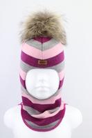 Зимняя шапка шлем Beezy -1802/36/22