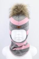 Зимняя шапка шлем Beezy -1802/37/22