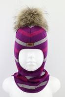 Зимняя шапка шлем Beezy -1802/38/22