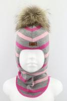 Зимняя шапка шлем Beezy -1802/39/22