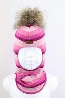 Зимняя шапка шлем Beezy -1802/42/22