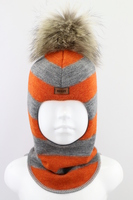 Зимняя шапка шлем Beezy -1802/45/22