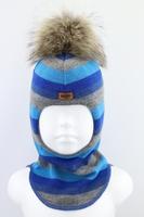 Зимняя шапка шлем Beezy -1802/47/22