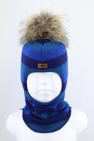 Зимняя шапка шлем Beezy -1802/53/22