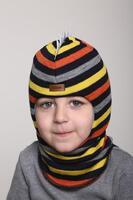 Зимняя шапка шлем Beezy - 1615/50/22
